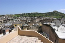 Photo of Beautiful Views of Fes, Morocco, from Second Story Terrace at Dar Jnane