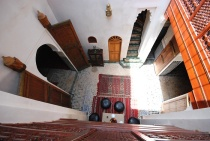 Photo of Dar Jnane, Courtyard from Above, Fes, Morocco